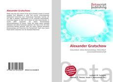 Couverture de Alexander Gratschow