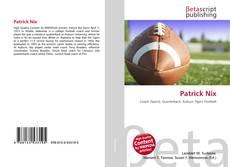 Capa do livro de Patrick Nix