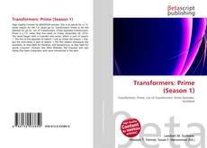 Bookcover of Transformers: Prime (Season 1)