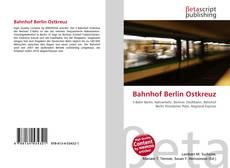 Buchcover von Bahnhof Berlin Ostkreuz