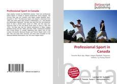 Обложка Professional Sport in Canada