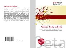 Buchcover von Warren Park, Indiana