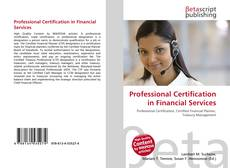 Bookcover of Professional Certification in Financial Services