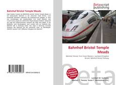 Capa do livro de Bahnhof Bristol Temple Meads