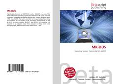 Bookcover of MK-DOS