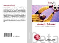 Bookcover of Alexander Grünwald