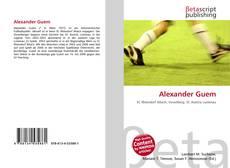 Couverture de Alexander Guem