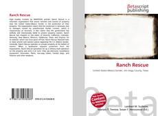 Buchcover von Ranch Rescue