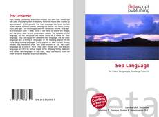 Bookcover of Sop Language