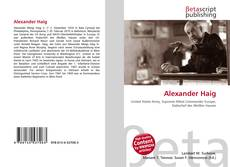 Bookcover of Alexander Haig