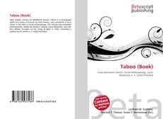 Bookcover of Taboo (Book)