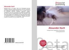 Buchcover von Alexander Hartl