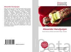 Bookcover of Alexander Harutjunjan