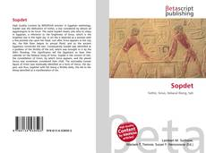 Bookcover of Sopdet