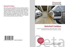 Bahnhof Cottbus的封面