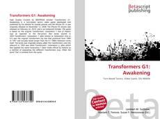 Capa do livro de Transformers G1: Awakening