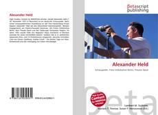 Borítókép a  Alexander Held - hoz