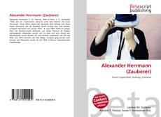 Обложка Alexander Herrmann (Zauberer)