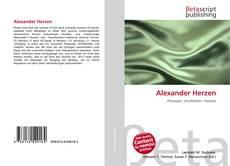 Обложка Alexander Herzen