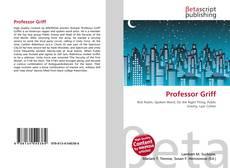 Capa do livro de Professor Griff