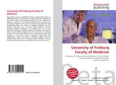 Bookcover of University of Freiburg Faculty of Medicine