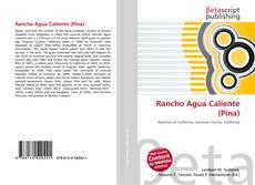 Portada del libro de Rancho Agua Caliente (Pina)