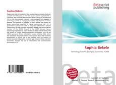 Portada del libro de Sophia Bekele