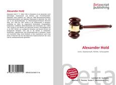 Bookcover of Alexander Hold
