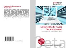 Bookcover of Lightweight Software Test Automation