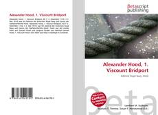 Bookcover of Alexander Hood, 1. Viscount Bridport
