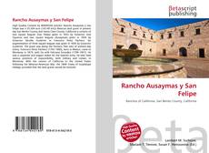 Rancho Ausaymas y San Felipe kitap kapağı