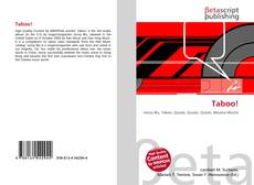 Bookcover of Taboo!