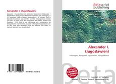 Alexander I. (Jugoslawien)的封面