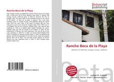 Capa do livro de Rancho Boca de la Playa
