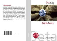 Portada del libro de Sophia Forero