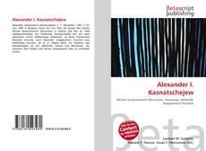 Buchcover von Alexander I. Kasnatschejew
