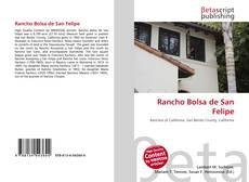 Portada del libro de Rancho Bolsa de San Felipe