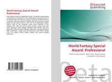 Portada del libro de World Fantasy Special Award: Professional