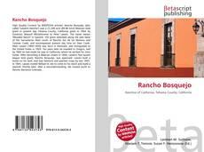 Rancho Bosquejo的封面