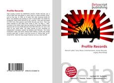 Bookcover of Profile Records