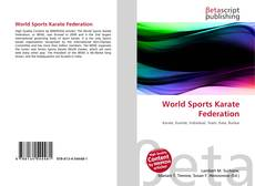 Copertina di World Sports Karate Federation