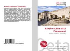 Bookcover of Rancho Buena Vista (Soberanes)