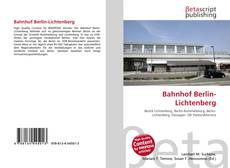 Обложка Bahnhof Berlin-Lichtenberg