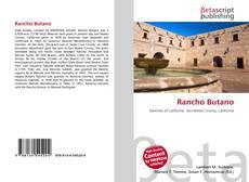 Capa do livro de Rancho Butano