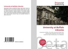 Bookcover of University at Buffalo Libraries