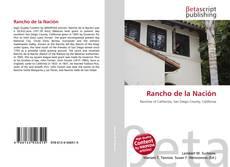 Bookcover of Rancho de la Nación