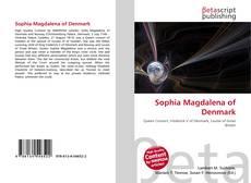 Bookcover of Sophia Magdalena of Denmark