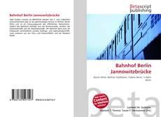 Buchcover von Bahnhof Berlin Jannowitzbrücke