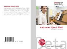Buchcover von Alexander Iljitsch Siloti
