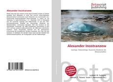 Alexander Inostranzew的封面